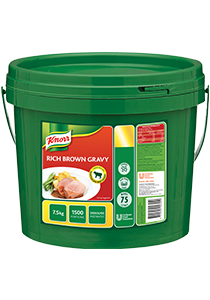 KNORR Rich Brown Gravy 7.5 kg