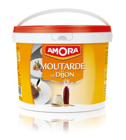 Amora moutarde Dijon seau 5 kg
