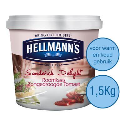 Hellmann's Sandwich Delight Crémeux tomates séchées 1,5 kg