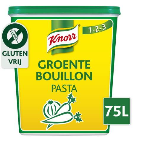 Knorr 1-2-3 Bouillon de Legumes en pâte 1,5 kg