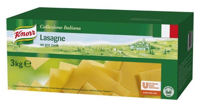 Knorr Collezione Italiana Pâtes Lasagne 3 kg