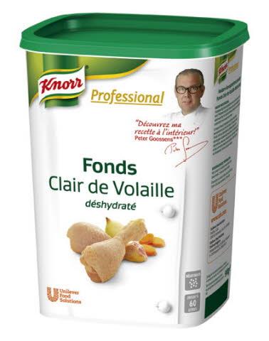 Knorr Professional Fonds déshydratés Fond Clair de Volaille 900 g