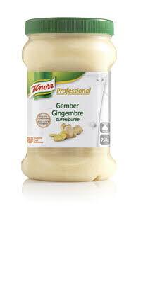 Knorr Professional Purée d' épices au Gingembre 750 g