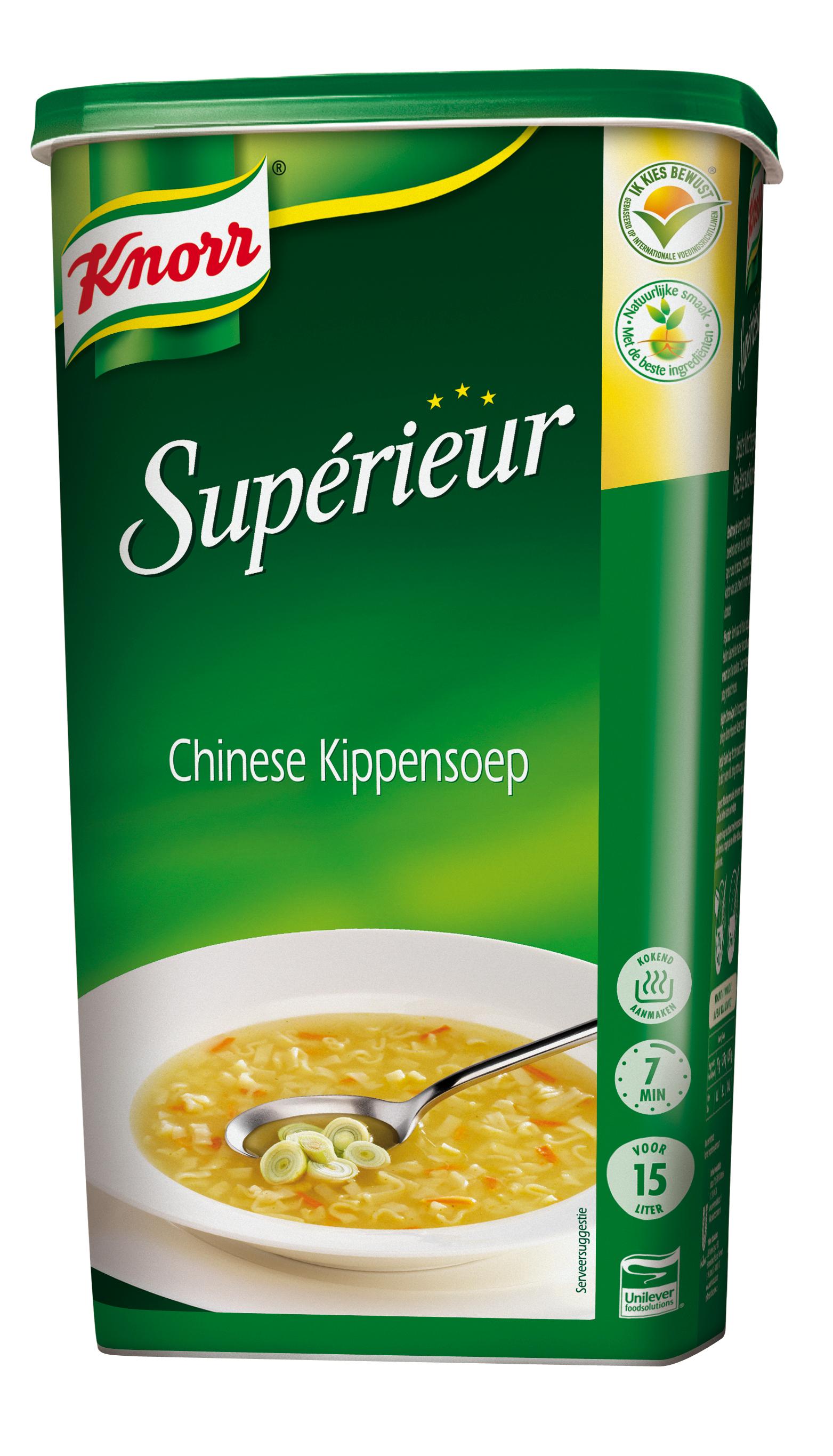 Knorr Supérieur Potage Chinois au Poulet 1,05 kg