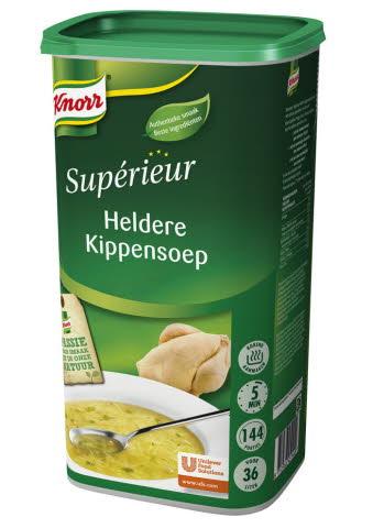 Knorr Supérieur Potage Clair Au Poulet 1,44 kg