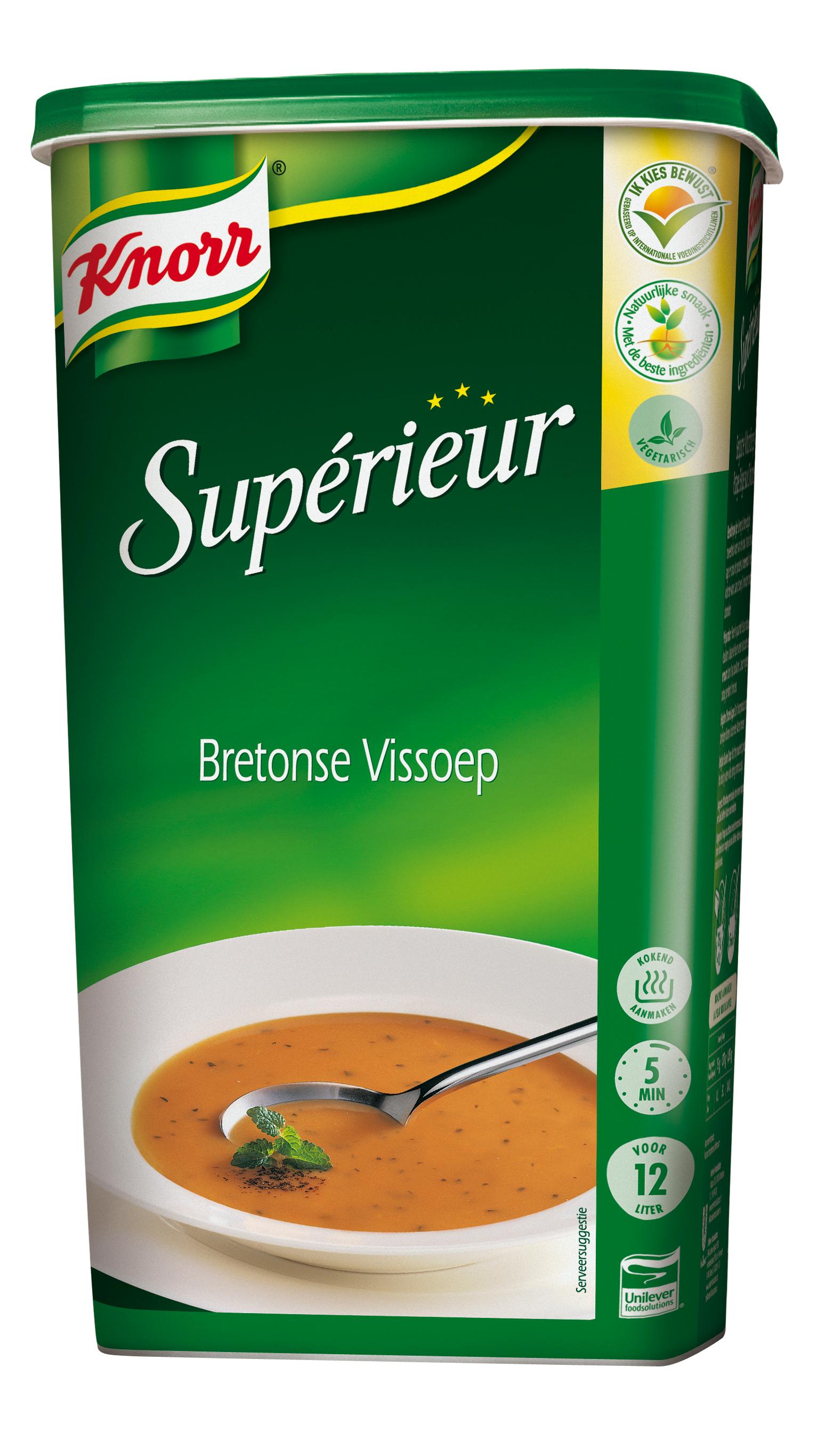 Knorr Supérieur Soupe de Poisson à la Bretonne 1,2 kg