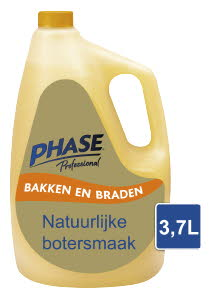 Phase with Natural Butter Flavour 3,7 l