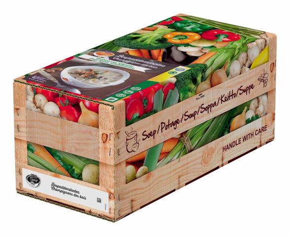 Unox Soupe Champignons des bois 4 x 2,5 l