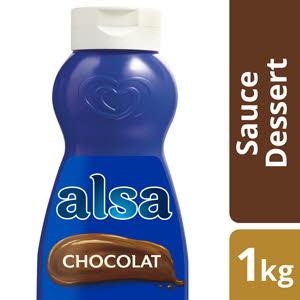 Alsa Sauce Chocolat Flacon 1kg