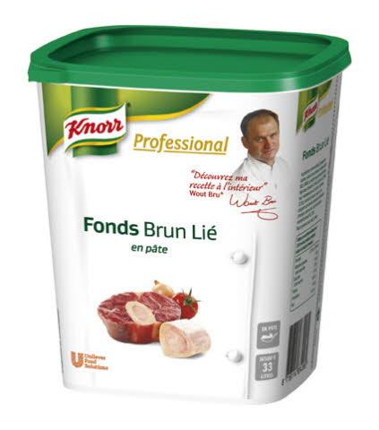 Fonds Brun Lié en pâte Knorr Professional 1 Kg