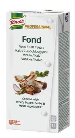 Knorr Professional Fond de Veau brique de 1L