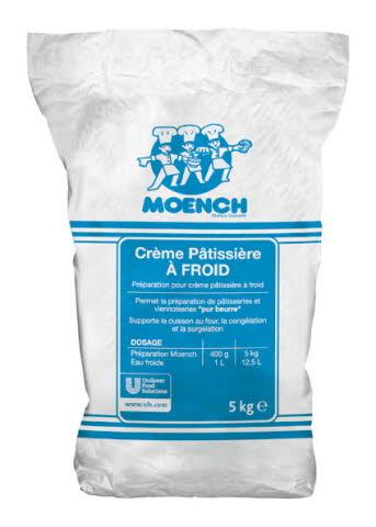 Moench Crème pâtissière à froid 5kg