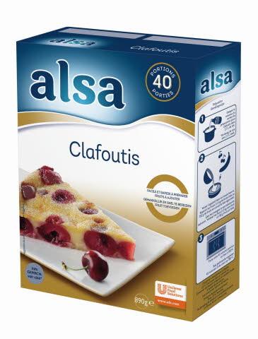Alsa Clafoutis 890 g