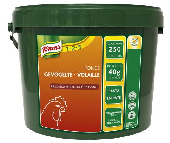 Knorr 1-2-3 Fonds Gevogeltefond pasta 10 kg