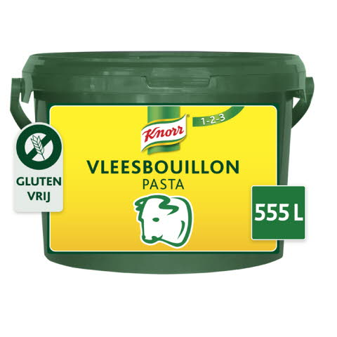 Knorr 1-2-3 Vleesbouillon Pasta 10 kg