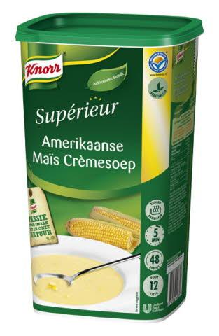 Knorr Supérieur Amerikaanse Maïs Crèmesoep 1,1 kg