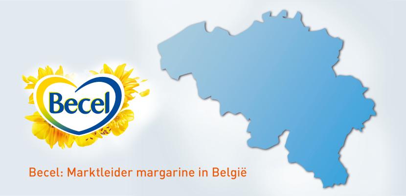 Becel Original 60% Porties 120 x 20 g - Becel, nr. 1 margarine in België (Gebaseerd op marktaandeel - Nielsen 2015)