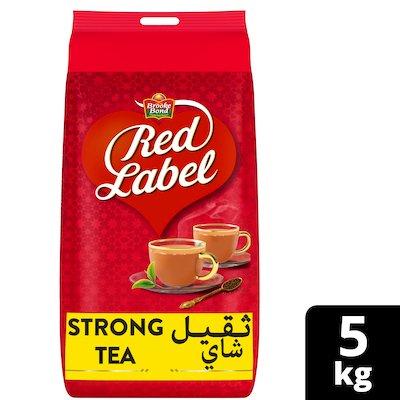 بروك بوند ريد ليبل شاي خرز عبوة التموين ٢×٥ كجم -