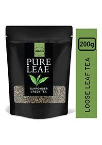 بيور ليف شاي أخضر خرز ورق كامل ٢٠٠جم × ٤ -