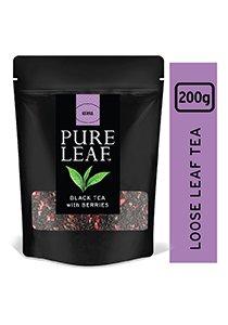 بيور ليف شاي أسود بالتوت ورق كامل ٢٠٠جم × ٤ -
