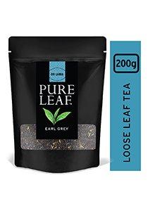 بيور ليف شاي إيرل جراي ورق كامل ٢٠٠جم × ٤ -