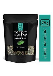 بيور ليف شاي بالنعناع ورق كامل ٧٥جم × ٤ -