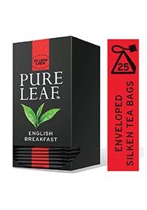 شاي الإفطار الإنجليزي ورق كامل ٢٥ باكيت شاي هرمي × ٦