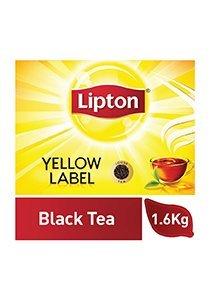 ليبتون العلامة الصفراء شاي أسود ناعم ٦ × ١.٦ كجم -