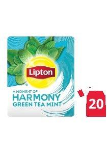 ليبتون شاي أخضر بالنعناع ١٦×٢٠ ظرف -