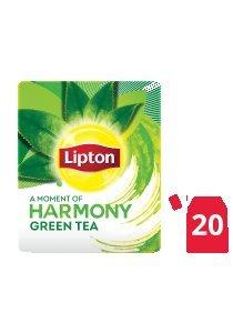 ليبتون شاي أخضر نقي ١٦ × ٢٠ باكيت شاي -