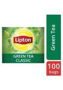 ليبتون شاي أخضر ١٢ × ١٠٠ باكيت شاي -