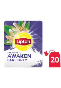 ليبتون شاي إيرل جراي ١٦ × ٢٠ × ١٫٥ جم