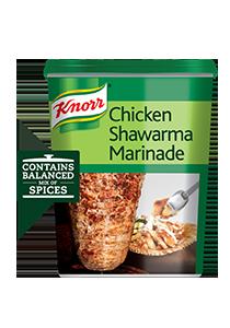 تتبيلة شاورما الدجاج كنور ٦ × ٧٥٠جم - أضِف تتبيلة كنور للشاورما إلى مكوّناتك الخاصة للمذاق الشهي ذاته في كلّ مرّة.