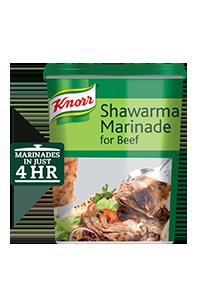 تتبيلة شاورما اللحم البقري كنور ٦ × ٧٥٠ جم
