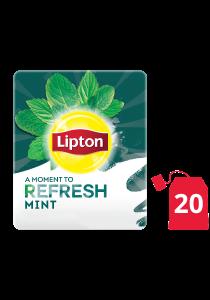 ليبتون أعشاب النعناع ۲۰x۱٦ باكيت شاي - ليبتون شاي الأعشاب مصمم لتحسين مزاج كل موظف