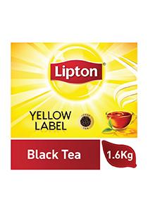 ليبتون العلامة الصفراء شاي أسود ناعم ٦ × ١.٦ كجم