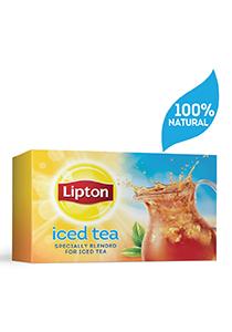 ليبتون شاي أسود مخصص للشاي المثلج ٤×٢٤ ظرف