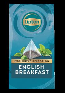 ليبتون شاي إفطار إنجليزي ٦×٢٥ باكيت شاي هرمي - تقدّم التشكيلة المختارة من ليبتون لحظات فريدة لضيوفك عند احتساء الشاي