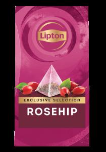 ليبتون شاي بثمرة الورد (٦×٢٥ باكيت شاي هرمي) - تقدّم التشكيلة المختارة من ليبتون لحظات فريدة لضيوفك عند احتساء الشاي.