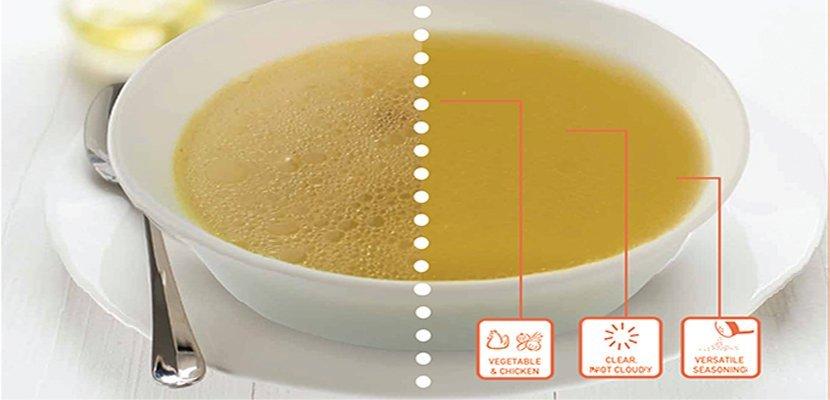 مسحوق مرقة الدجاج كنور - بدون منكهات MSG مضاف ٦×١ كجم - خالٍ من الجلوتامات أحادية الصوديوم.