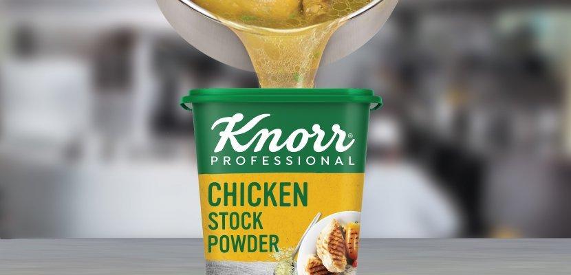 مسحوق مرقة الدجاج كنور ٦×١١٠٠ جم - نكهة الدجاج الأصلي القوية