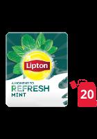 ليبتون أعشاب النعناع ۲۰x۱٦ باكيت شاي