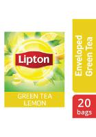 ليبتون شاي أخضر ليمون ١٦ × ٢٠ × ١٫٥ جم