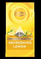ليبتون ليمون منعش (٦×٢٥ باكيت شاي هرمي)