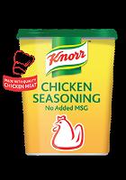 مسحوق مرقة الدجاج كنور - بدون منكهات MSG مضاف ٦×١ كجم