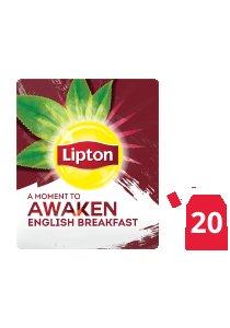 ليبتون شاي إفطار إنجليزي ١٦×٢٠×٢جم