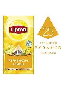 ليبتون شاي الليمون المنعش ٦×٢٥×١.٧جم -