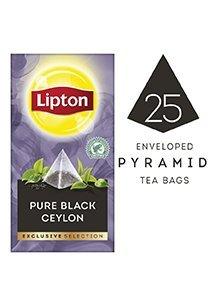 ليبتون شاي سيلاني نقي أسود ٦×٢٥×١.٨جم -