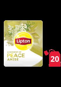 ليبتون أعشاب الينسون ۲۰x۱٦ باكيت شاي - ليبتون شاي الأعشاب مصمم لتحسين مزاج كل موظف
