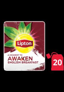 ليبتون شاي الإفطار الإنجليزي ١٦×٢٠ ظرف - ليبتون شاي الأعشاب مصمم لتحسين مزاج كل موظف